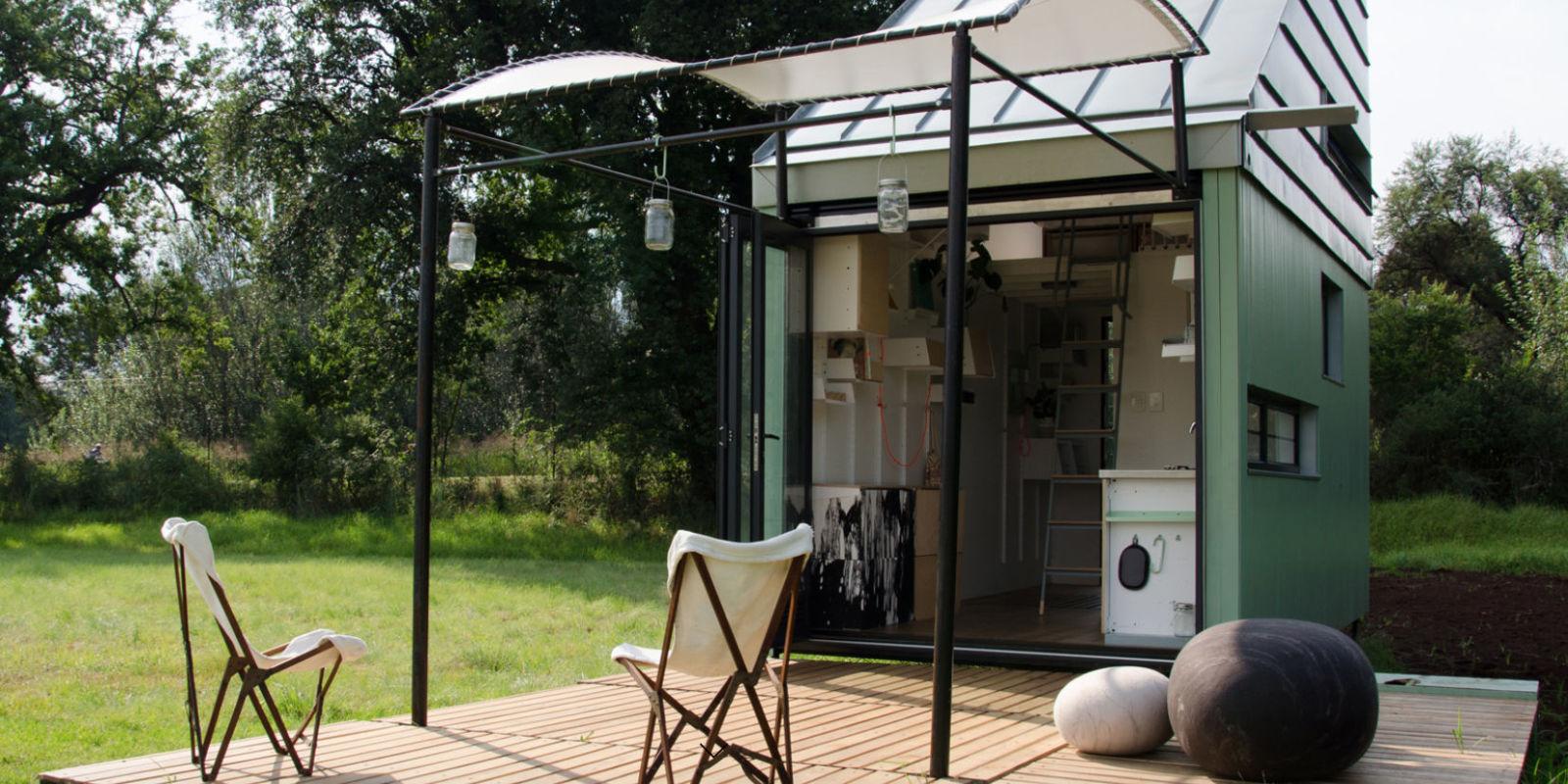 Flat Pack Tiny House Pod Idladla Pod Home