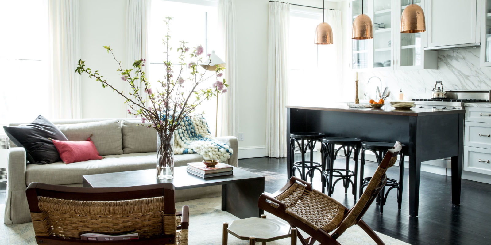 New york city brownstone makeover   modern design in an old house