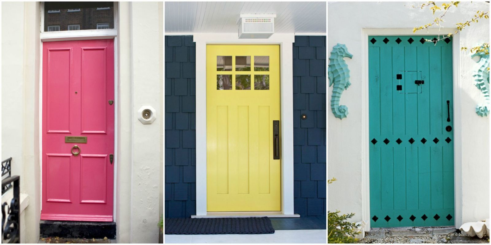 Front Door Colors Prepossessing Front Door Colors  What Your Front Door Says About You 2017