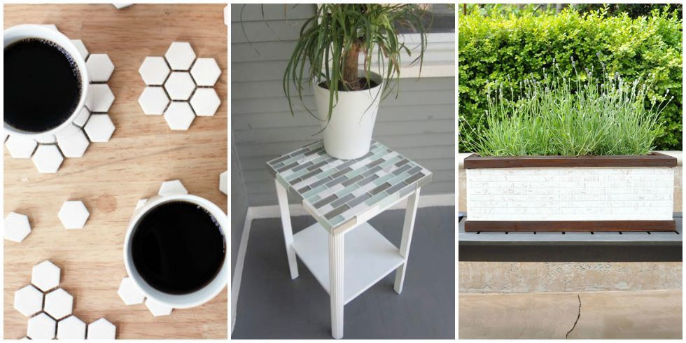 Crafts With Leftover Tile Diy Tile Projects