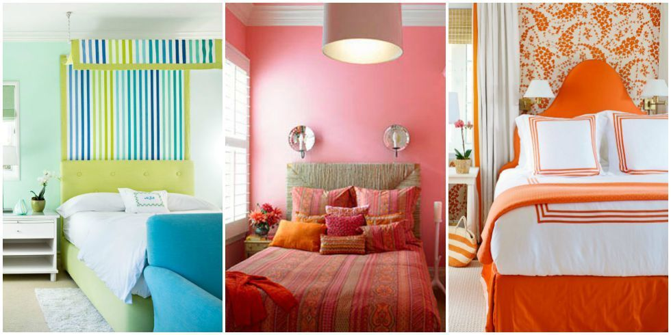 60 colorful bedrooms that will make you wake up happier - Colors For Walls In Bedrooms