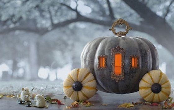 Cinderella isn't the only one  fit for a pumpkin carriage ride.  Get the tutorial at Ursi's Blog »