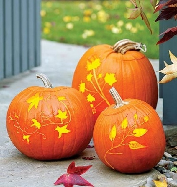 33 Cool Pumpkin Carving Designs