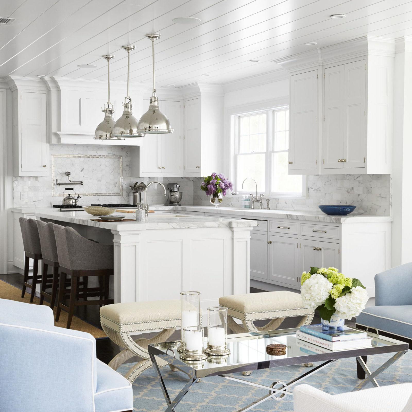 75 Trendy Open Concept Kitchen Design Ideas: Make An Open Kitchen More Cozy