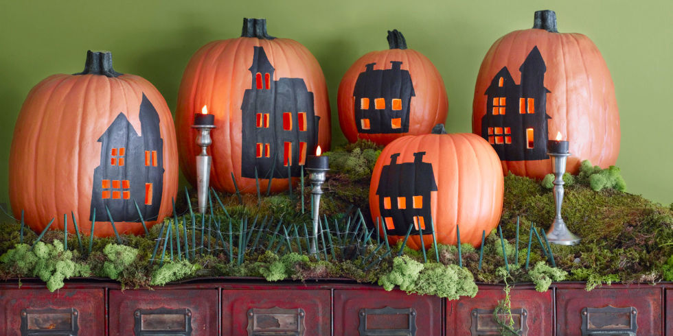 30 scary diy halloween decorations cool homemade ideas for halloween decorating - Best Homemade Halloween Decorations