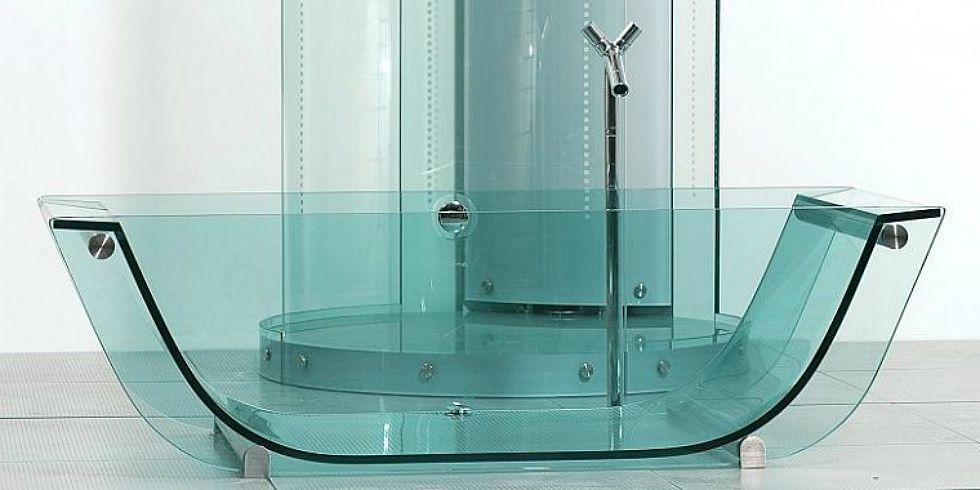Glass Bathtub glass bathtubs trend - transparent bathtubs