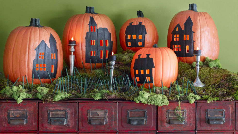 30 scary diy halloween decorations cool homemade ideas for halloween decorating - Decorating Ideas For Halloween