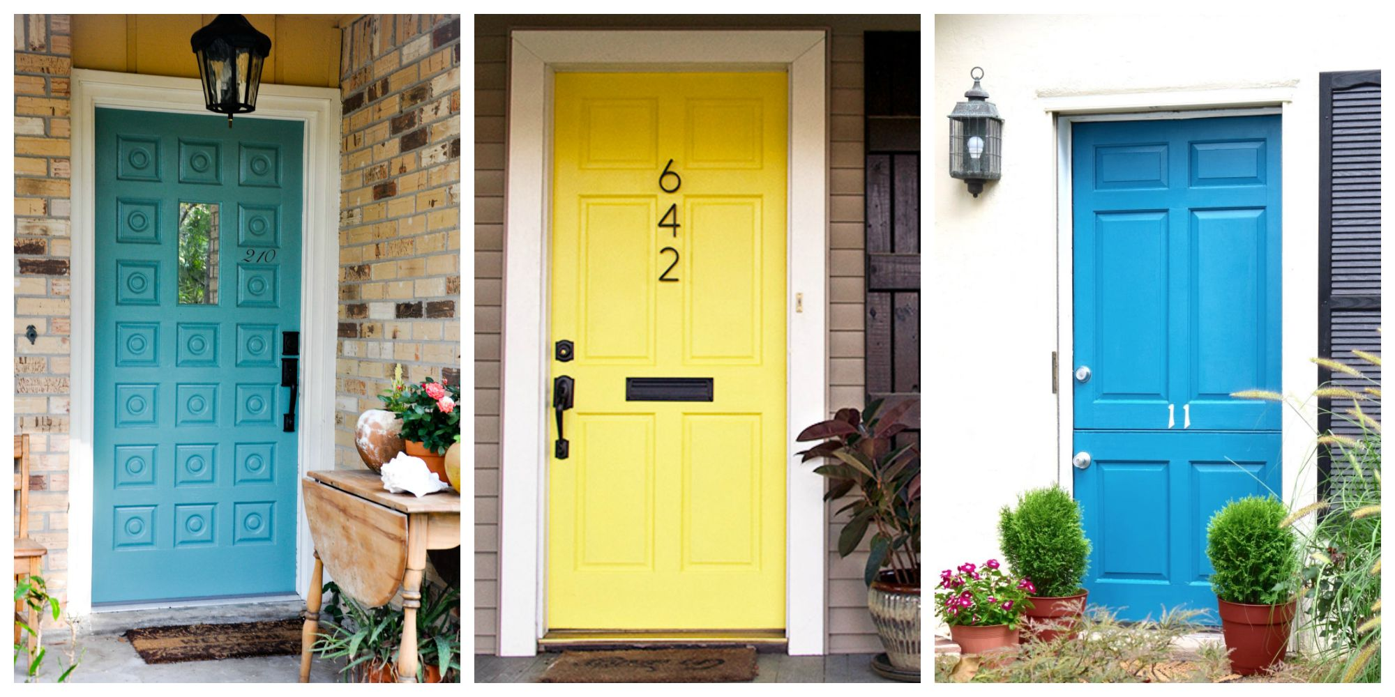 8 front door makeover ideas how to makeover your home front door - Front door color ideas inspirations can use ...