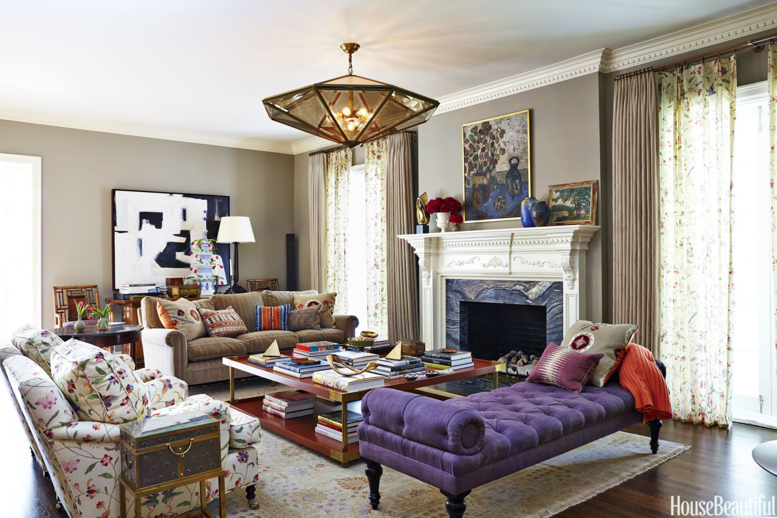 a 1930s bel air home colorful california home