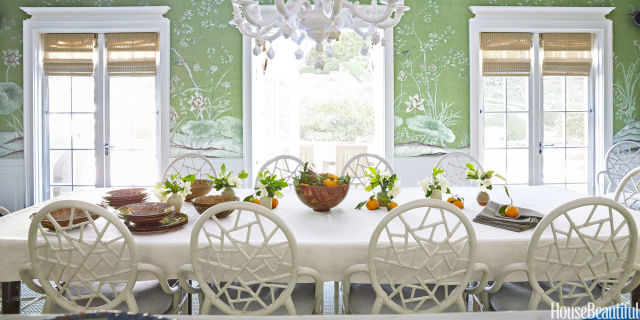dining rooms - House Beautiful Dining Rooms
