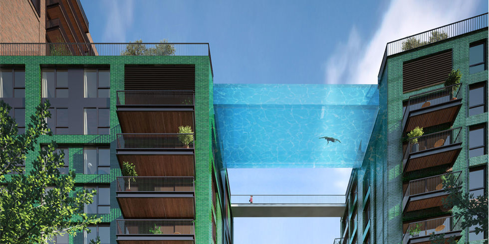 Floating Pool on The Sent