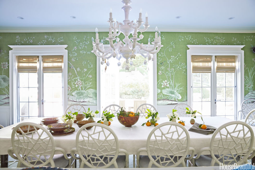 White Dining Room Decor