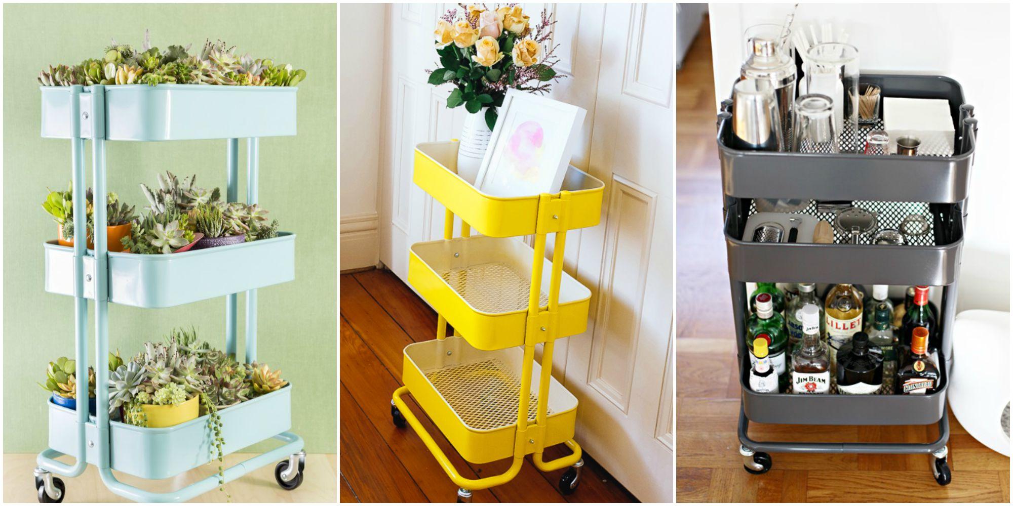 ikea raskog cart ideas raskog ikea hacks. Black Bedroom Furniture Sets. Home Design Ideas