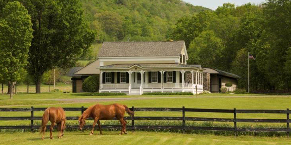 Rustic Farmhouse With Modern Barn Home Tour Charlotte Valley Farms