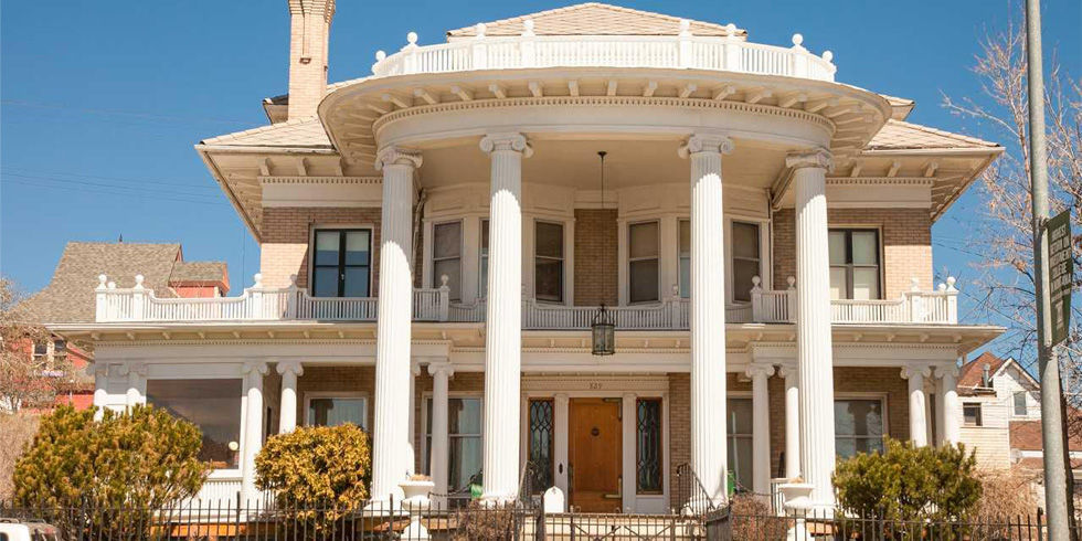 Neoclassical montana mansion house tour affordable for Classic house tour