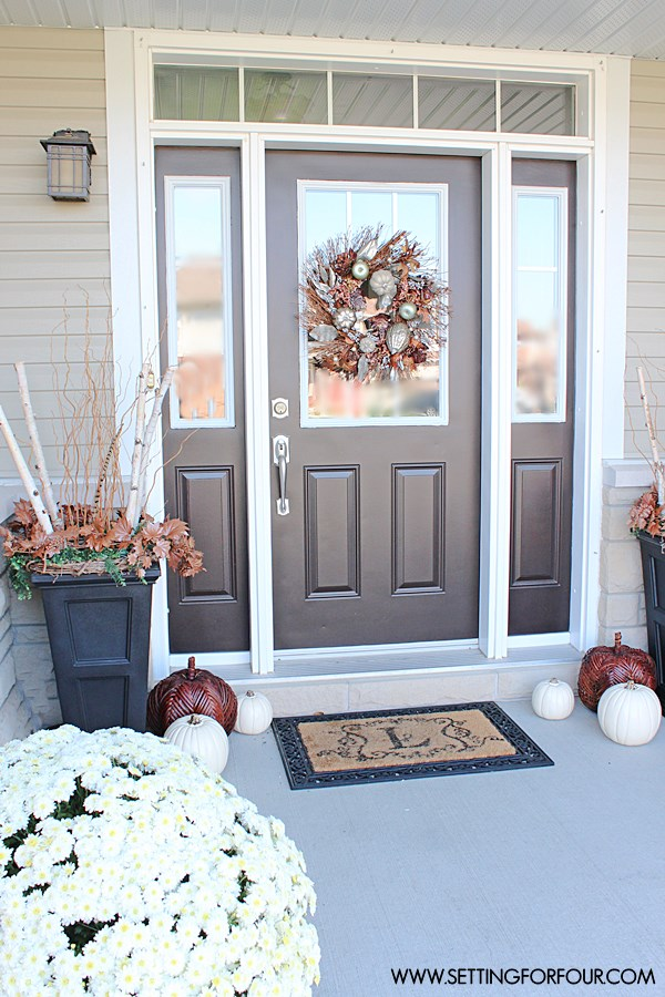 latest fall porch decor ideas best autumn porch decorations with fall decorating ideas. & Fall Decorating Ideas. Gallery Of Fall Decorating Ideas To Make Your ...