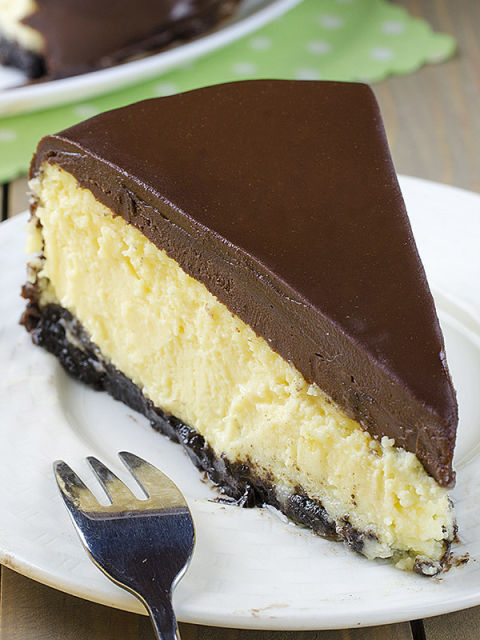 We can definitely get down with a spiked cheesecake. Get the recipe ...