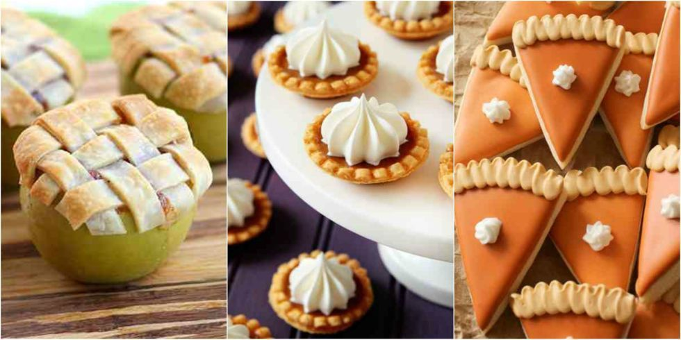 20 Adorable Mini Versions of Your Favorite Fall Desserts