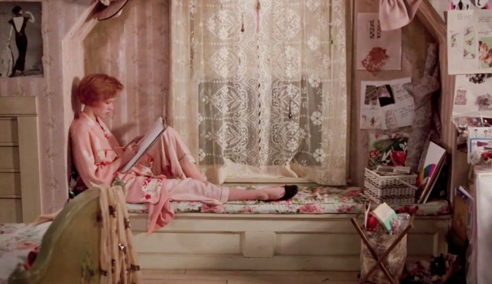 Pretty in Pink. Iconic Bedrooms from Films   The Most Famous Movie Bedrooms