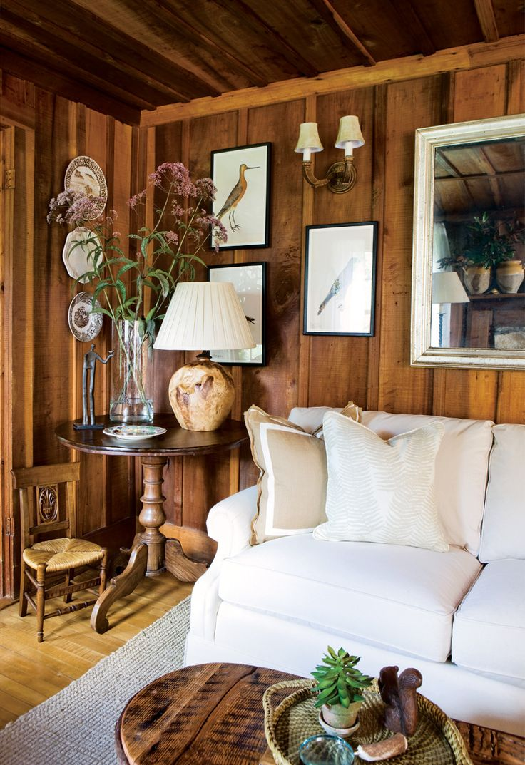 wood paneling makeovers - how to update wood paneling