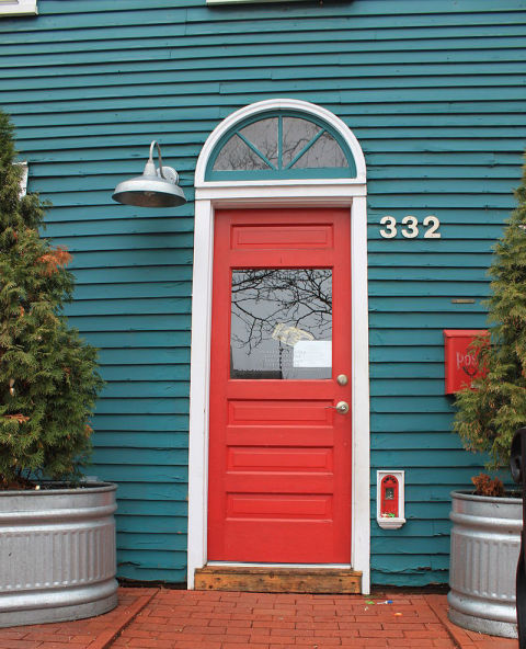 Pictures of beautiful things colorful inspiration and art for Red elf door