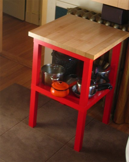 create kitchen storage - Kitchen Side Tables