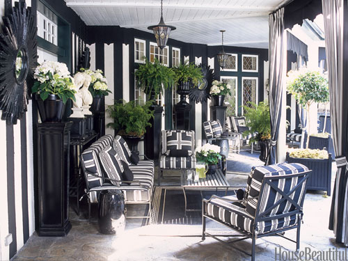 black home decor - ideas for decorating with black