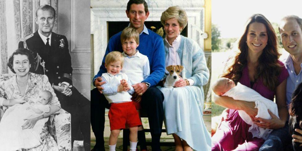 Royal Family Portraits Baby Photos