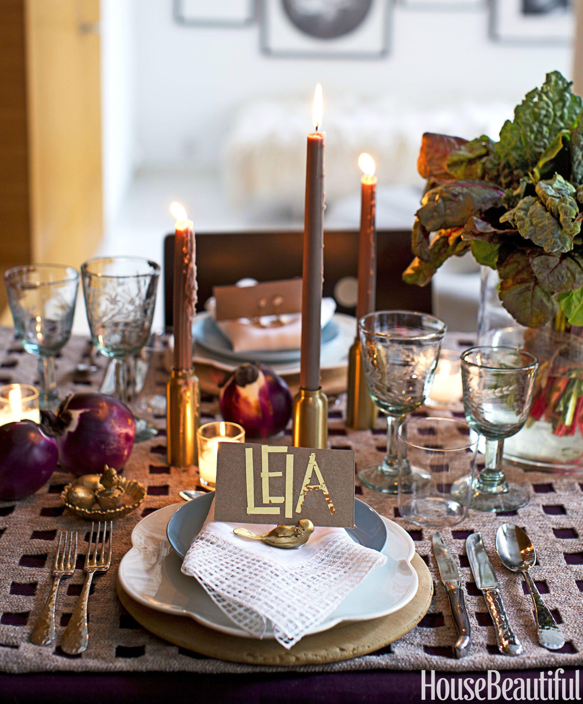 Tables Decoration: Ideas For Autumn Tablescape