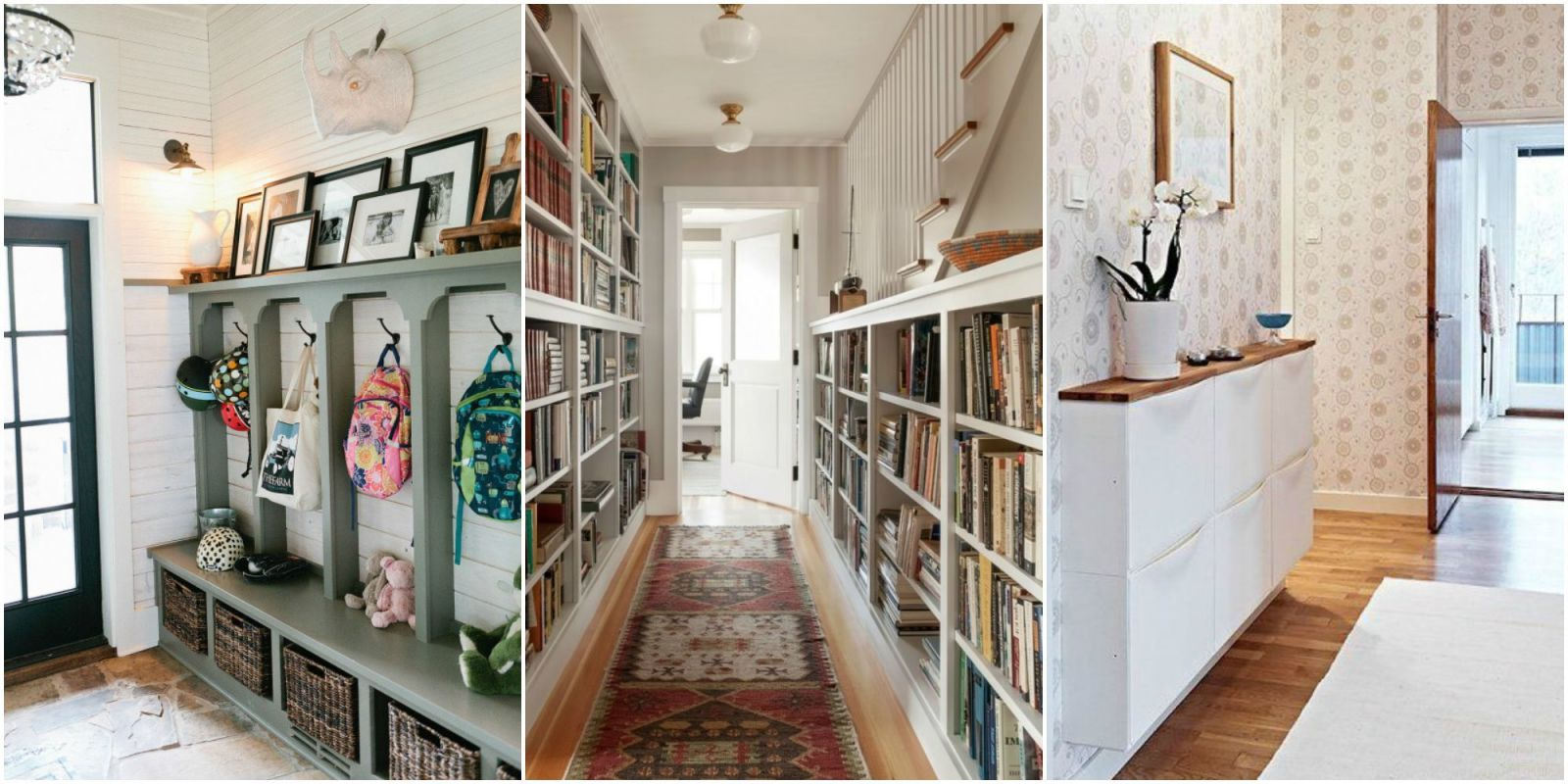 Hallway Decor Inspiration Hallway Storage Ideas Better Uses For Hallways