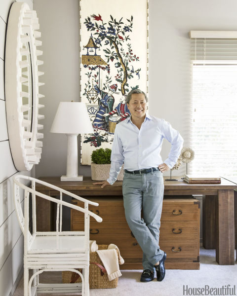 Designer Benjamin Dhong Decorates His Home With An