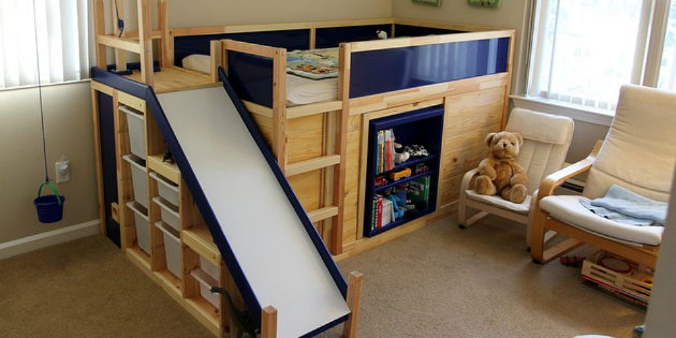 The Ultimate Ikea Kid 39 S Bed Is Real Dad Builds Awesome