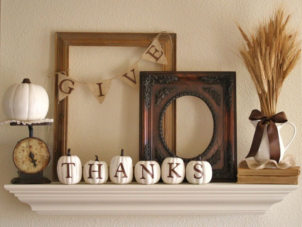 35+ Easy Thanksgiving Decorations   Ideas For Festive Thanksgiving Decor