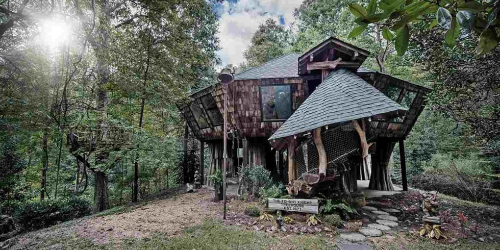 Storybook Treehouse Home Tour Unique Treehouse Homes