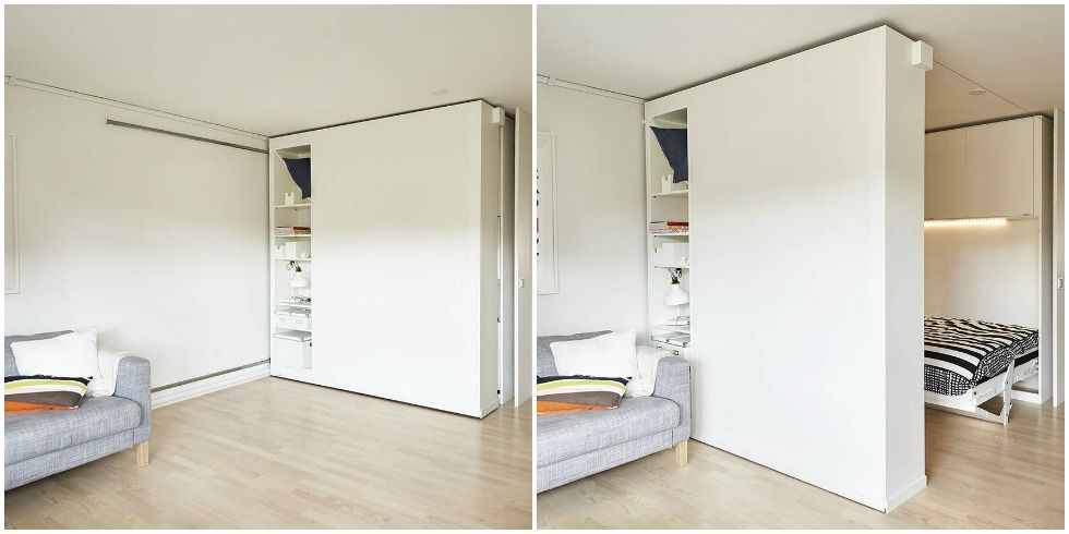 Ikea moveable wall project ikea small space solutions - Ikea cloison amovible ...