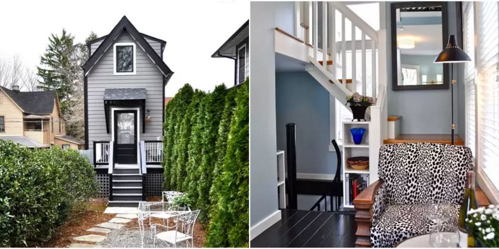 skinny three story home tour - Two Story Tiny House