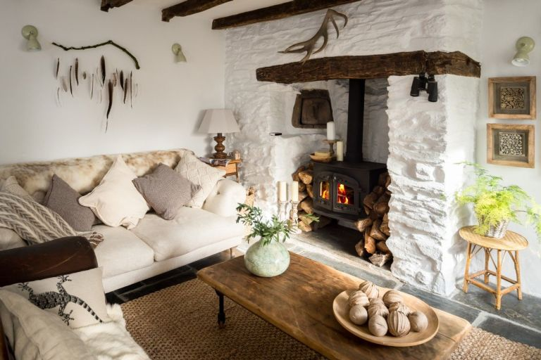 English Cottage Living Room storybook cottage in cornwall - country cottage home tour
