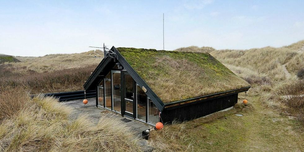 Danish Home With Living Roof Tiny Houses