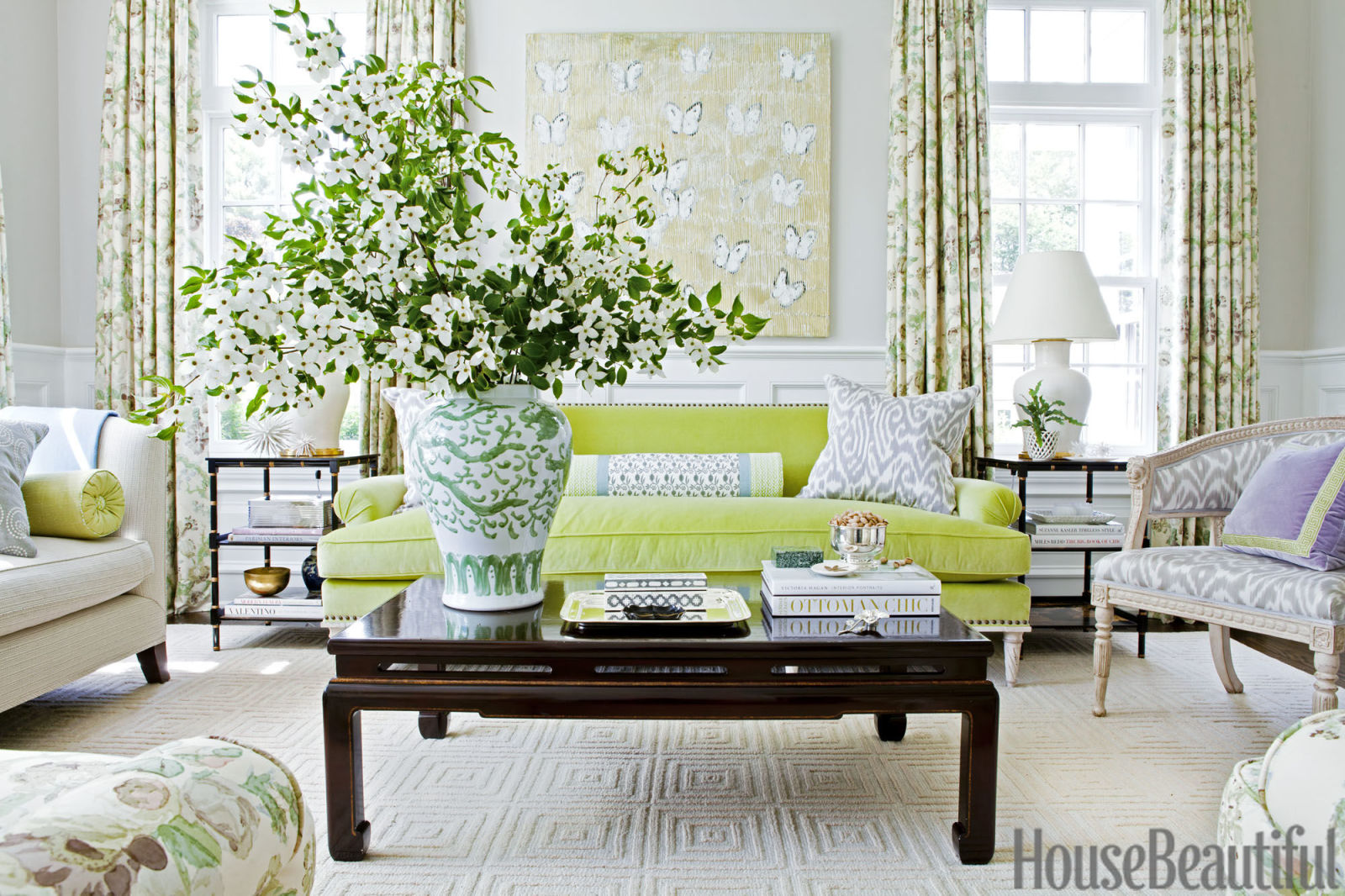 Living Room Ideas House Beautiful designer ashley whittaker decorates this westchester county home