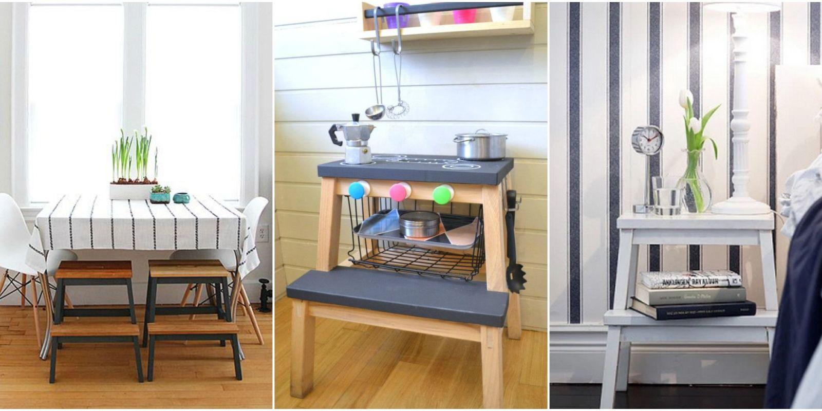 Http Www Housebeautiful Com Home Remodeling Diy Projects G2747 Ikea Bekvam Stepstool Hacks