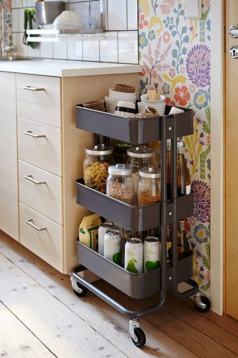 store extra pantry items. beautiful ideas. Home Design Ideas
