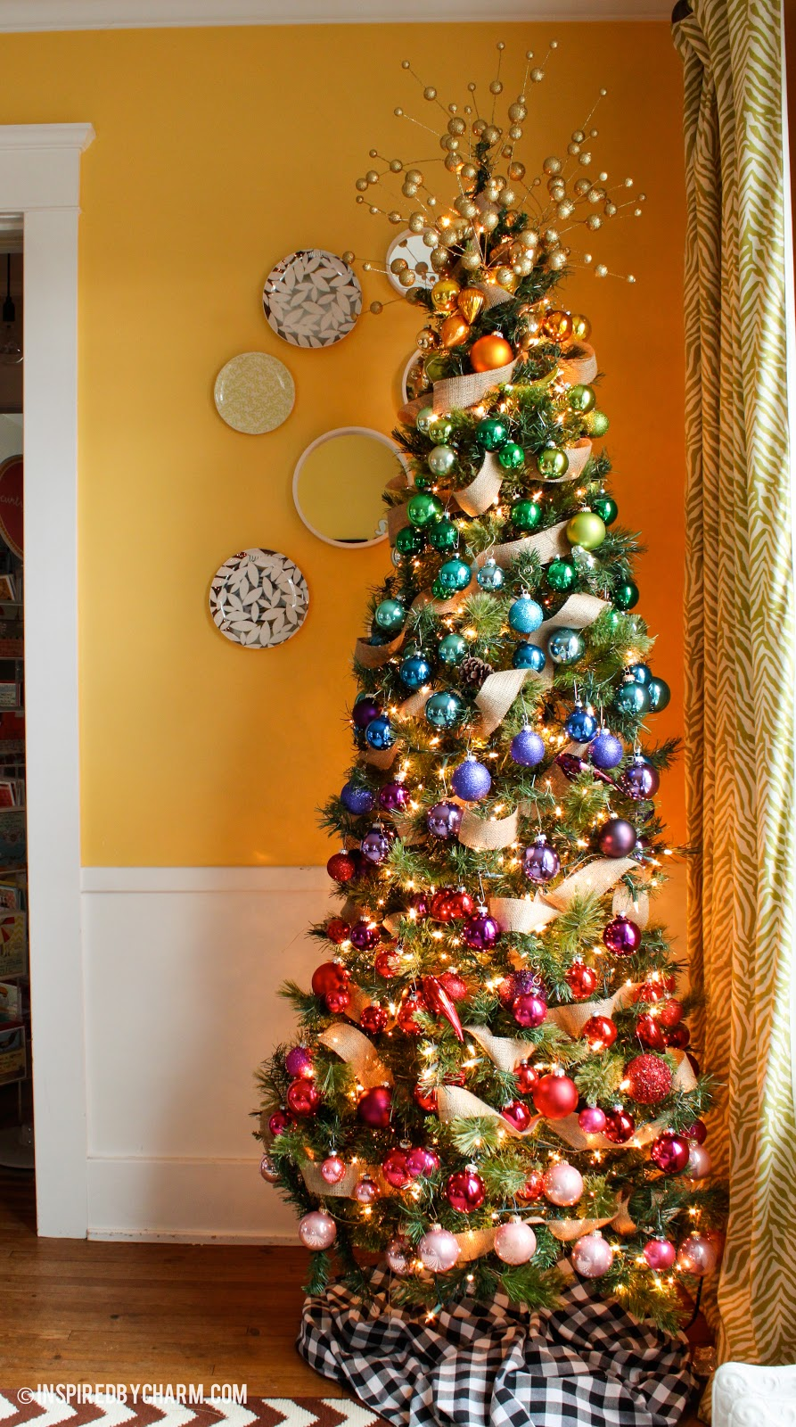 35 christmas tree decoration ideas pictures of beautiful christmas trees - Christmas Trees Decorated