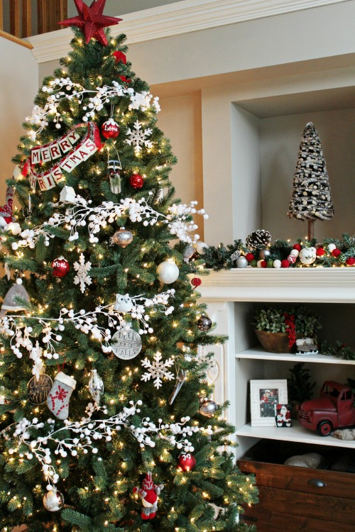 Christmas Home Decor Ideas 35 christmas tree decoration ideas - pictures of beautiful