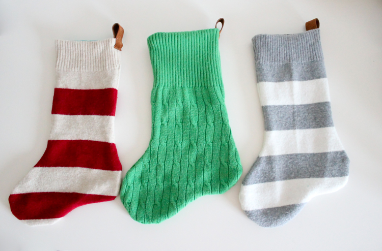 25 unique christmas stockings - best cute diy ideas for holiday