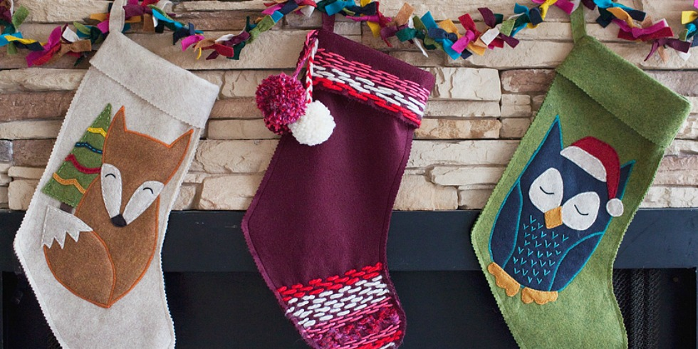 25 Unique Christmas Stockings Best Cute Diy Ideas For