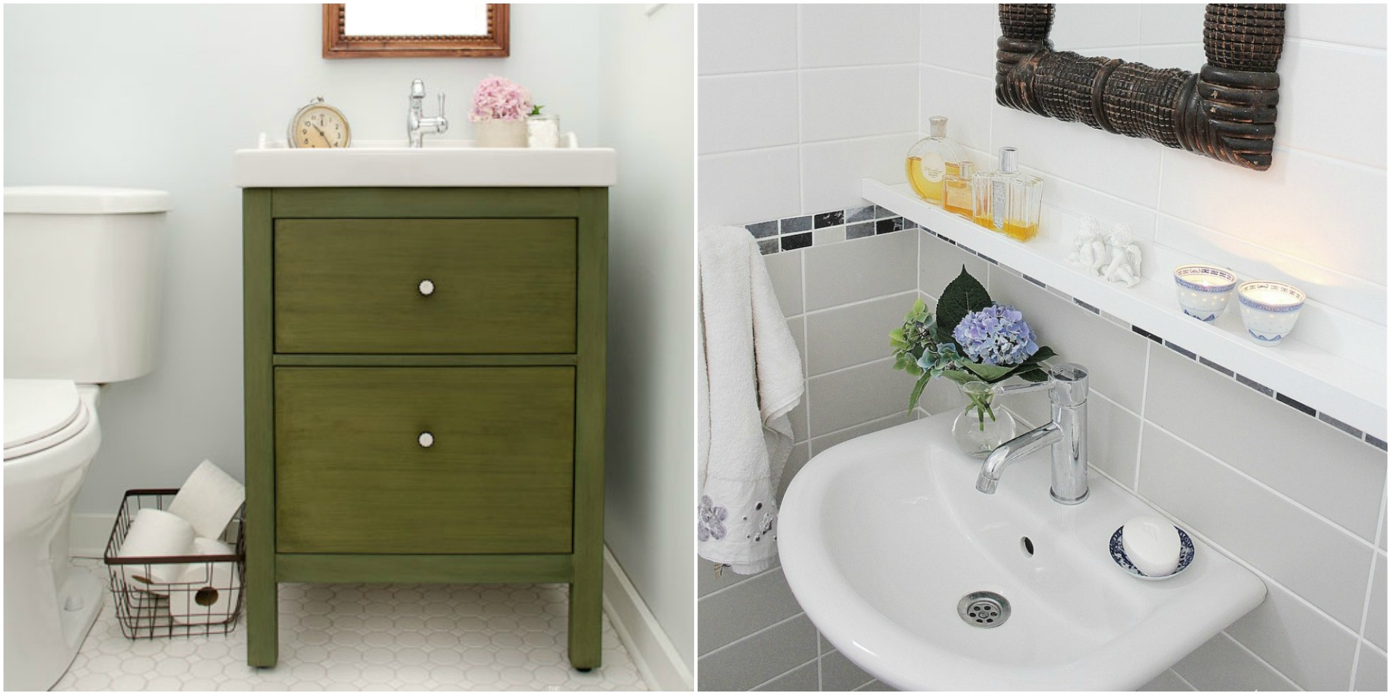 11 ikea bathroom hacks new uses for ikea items in the bathroom - Ikea bathrooms images ...