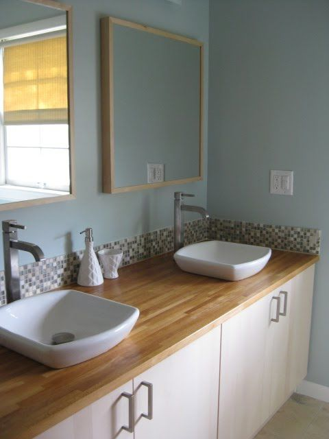 amazing Using Kitchen Cabinets In Bathroom #9: Use Kitchen Cabinets