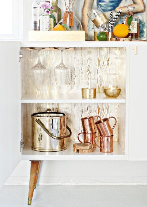 Ikea cabinet hacks new uses for ikea cabinets Ikea drinks cabinet hack