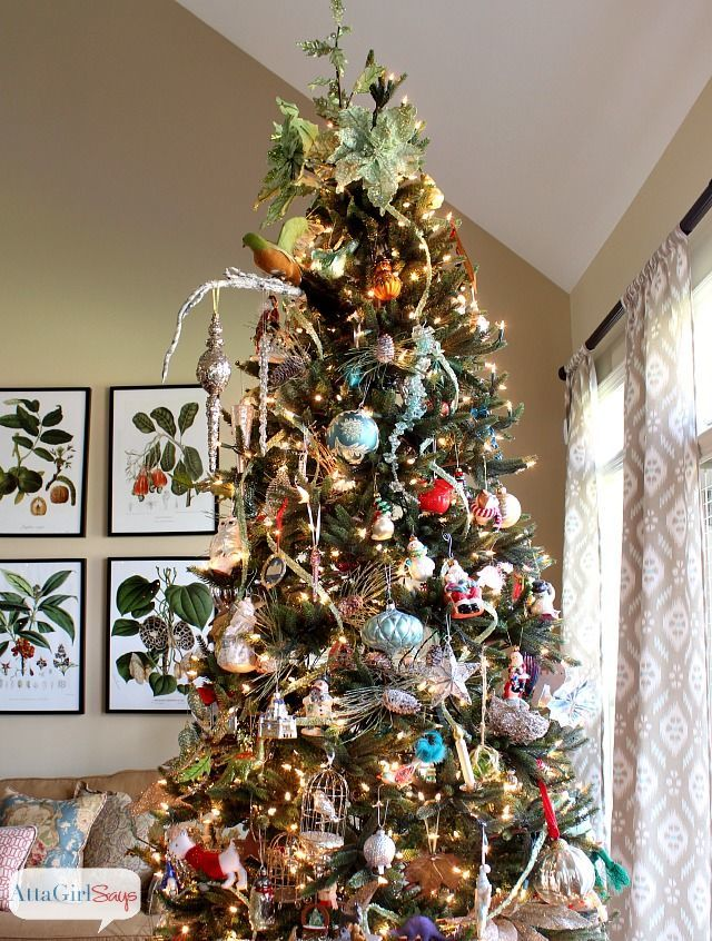 Beautiful Christmas Tree Images Part - 31: 35 Christmas Tree Decoration Ideas - Pictures Of Beautiful Christmas Trees