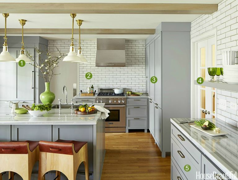 An Indianapolis Kitchen That Proves Gray Can Be Lively